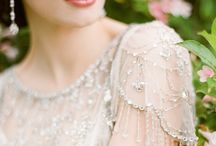 Shimmer & Sparkle - Beaded Embellished Bridal Gowns / Wedding dresses with shimmer and shine from sequins and beads!