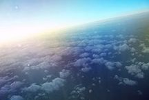 • FLY / sky, above the high