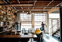 Coworking, Flex Spaces, &c. / Environments for the commingling of creative juices