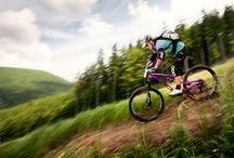 Mountain biking in Czech Republic / Beautiful and exiting mountain bike tracks in Czech Republic
