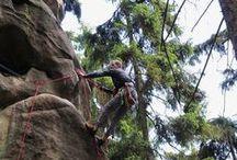 Climbing in Czech Republic / Amazing climbs in Czech Republic