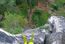 Rappelling in Czech Republic / Amazing rappelling trips in Czech Republic.
