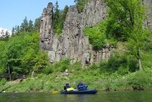 Canoeing in Czech Republic / Here you can find some of the pictures from our canoe trips.