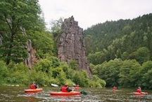 Kayaking in Czech Republic