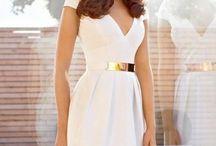 little white dress ;)
