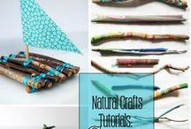 Nurturing Kids in Nature {Nature Art & Activities for Kids} / The BEST ways to encourage outdoor play, learning outdoors, love of nature and battery free playtime! Nature Art DIYs and projects, Kids Crafts Activity Ideas for outdoors, Learning activities and crafts, fun games and much more!