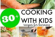 Kids in the Kitchen! {Future Foodies Unite!} / Kid Friendly Recipes and activities to teach them how to cook, use kitchen appliances and clean up after themselves.  Instill the love of cooking and baking in those future foodies and master chefs!