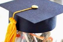 DIY Gifts! {Graduation!} / The BEST Homemade ideas for the GRADUATE!  Fun Paper Crafts, Recipes, DIY Tutorials and instructions for the most clever, prettiest and most thoughtful Graduation Gifts! Handmade and From the Heart is ALWAYS the best kind of gift.