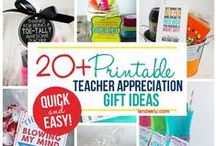 {TEACHER APPRECIATION WEEK gifts & Ideas} Dreaming in DIY / The BEST DIY Gift and Party Ideas to show how much we appreciate our Kids' TEACHERS! Gift Card Holders, Paper Crafts, Recipes to give sweet treats and goodies, Gift Bundle and Basket Ideas, Clever and Cute do it yourself packaging, handmade gift wrap and Plenty of FUN PUNS to go around!
