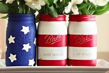 {4th of July - Independence Day & Patriotic Party Themes} Dreaming in DIY / The BEST DIY ideas and craft project tutorials for a fun Independence Day Celebration this 4th of July! Make your own decorations, party favors, get the best game and activity ideas, place settings, Paper Crafts and tutorials, drink and food station ideas, delicious recipes, photo props and more! Celebrate the USA the DIY way!