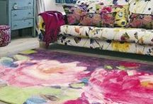 Spring Blooms / Rugs &  Interiors