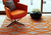 Orange Hues / Interiors & Rugs