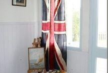 Patriotic Red White & Blue / Interiors & Rugs