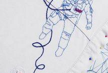 Miss Moys Embroidery / Modern embroidery Nowoczesna wyszywanka