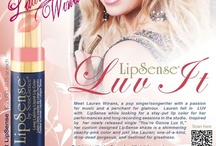 LUV IT LipSense and Lauren Winans / Lauren Winans is a young, and beautiful upcoming pop singer! She uses LipSense when performing or just out with her friends! Lauren Winans has designed her very own exclusive LipSense lipcolor called LUV It! Check it out!