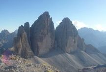 Tre Cime di Lavaredo (Dolomites - Italy) / Three fingers of rock that hold up the sky