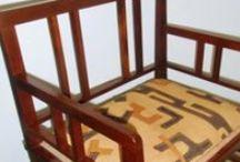 RESTAURACIÓN SILLA ART DECÓ / Restauración y tapizado de silla decó. By Ana Guillén