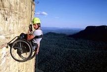 Adapt and overcome / Being mobility challenged doesn't mean giving up on your dreams, just rethinking how to achieve them
