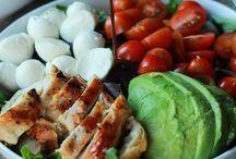 Food: SALADS / Anything salad, salad dressing