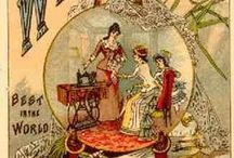 Vintage Sewing Remembered... / Lovely old advertisements and trade art