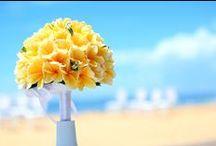 Sabbia Beach Wedding / A beautiful wedding overlooking to the Indian Ocean at Conrad Bali.