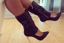 Footwear: BOOTS, Booties