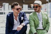 fashion men and masculine corner