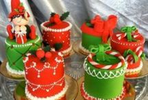 Christmas mini- and cupcakes / Christmas mini- and cupcakes.