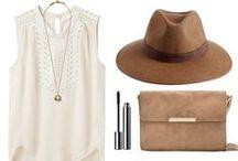 Mode & basiques / Les tendances & incontournables de ma garde robe réaliste idéale.