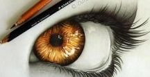 Drawn to perfection / realistic drawings and paintings