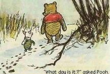 Disney's Winnie the Pooh / I love Winnie de Pooh. And his quotes are so lovely. I always smile when I read them.
