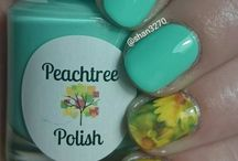 Nail art using our water decals