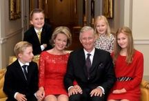 Royal Belgium family / The Royal Belgium Family, King Philippe, Queen Matilde and there children Princess Elisabeth, Prince Gabriël, Prince Emmanuel and Princess Eléanore.