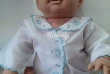 Bordados vintage para él bebé / Inspida en los bordado de nuestras abuelas