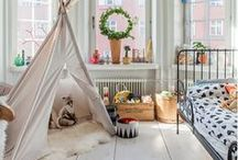 Kid Spaces / Any thing fun and whimsical to put in a child's space. / by Momazine Magazine