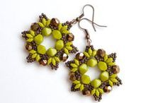 Beaded earrings tutorials