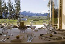 Wanaka Weddings / Maple Lodge - A beautiful Wanaka wedding location surrounded by stunning views of the NZ Southern Alps.