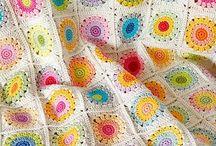 Crochet Blankets & Throws / by Kathryn Reilly Nussbaum
