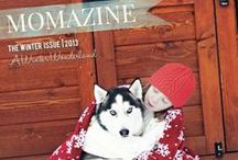Winter Momazine / This is our Dream Board. If you have been invited here, pin away! / by Momazine Magazine