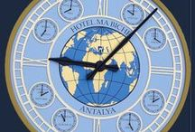 Clocks around the world. / We have created and currently care for many of the world's greatest public clocks. We understand that a clock represents the heartbeat of the community. See here some clocks from around the world!