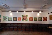 Pilisborosjenő-kiállítás-2014.10.26. / Selyemfestmény kiállítás