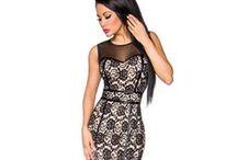 Glamourous Evening Outfits / http://www.atixo.de/Kategorie/Kleider-und-R%C3%B6cke--sl--Dresses/Kleider--sl---Dresses/?category=59&pageNo=1&itemsPerPage=12&sortBy=DATE_DESC