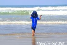 the best place in the world is on the beach / love the Beach ! love surfing ! love the sea