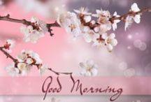 Good Morning pics / Immagini per il buongiorno