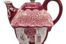 TEA TIME / china, porcelain, tea, coffee, cakes, biscuits