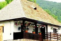 Countryside Houses, mostly Romanian / Farmhouses, Rustic style houses