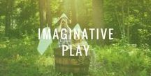 Imaginative Play / Nurture your kids creativity with these simple ideas and activities for imaginative play!