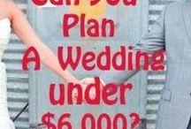 wedding ideas / ideas for weddings / by Kim Bianco
