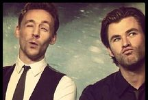 Thor & Loki  / Things relating to Thor & Loki AND Tom & Chris / by Mary Fleeson