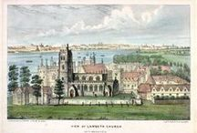 Views of Lambeth Palace / Views of Lambeth Palace and gardens